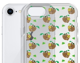best loved e37b8 92c23 Items similar to sloth / sloth phone case / sloth iPhone case ...