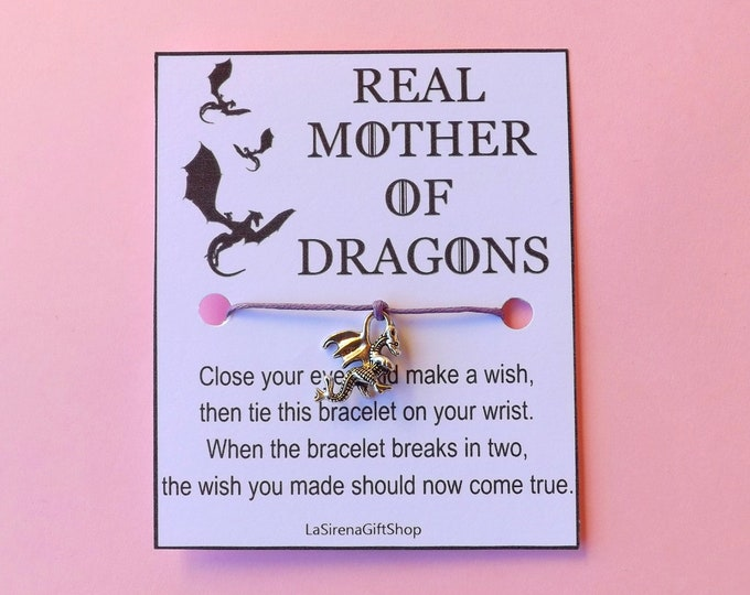 Real Mother of Dragons Wish Bracelet