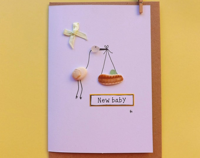 Baby Pebble Art Card ~ Stalk ~ Baby Bundle