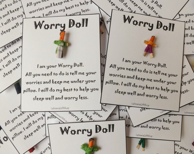 WHOLESALE Worry Dolls