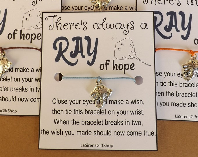 Ray of Hope Stingray Wish Bracelet
