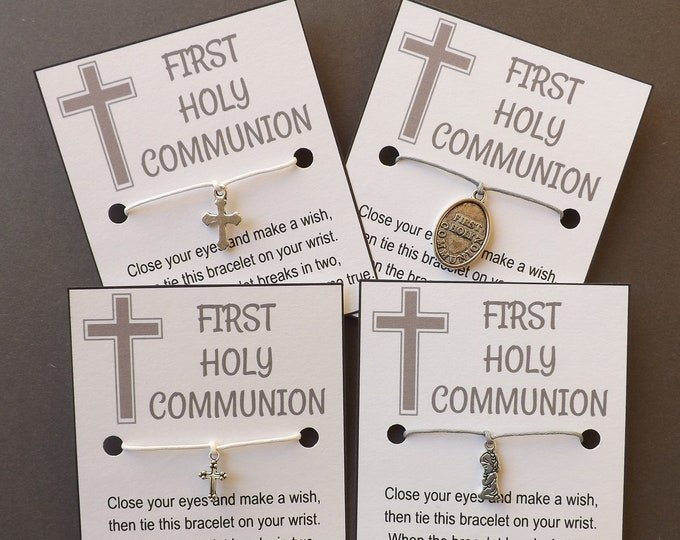First Holy Communion Wish Bracelet