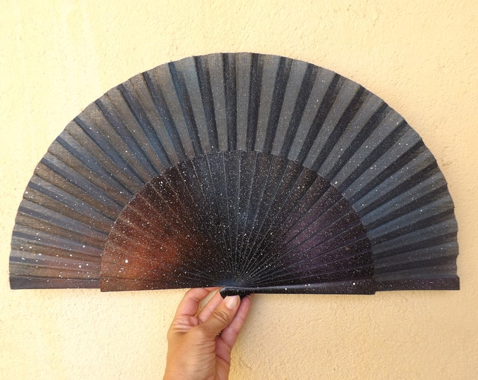 Night Sky Hand Fan Made to Order Any Size