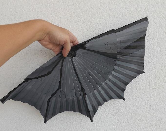 MTO Std Batwing Wood Hand Fan