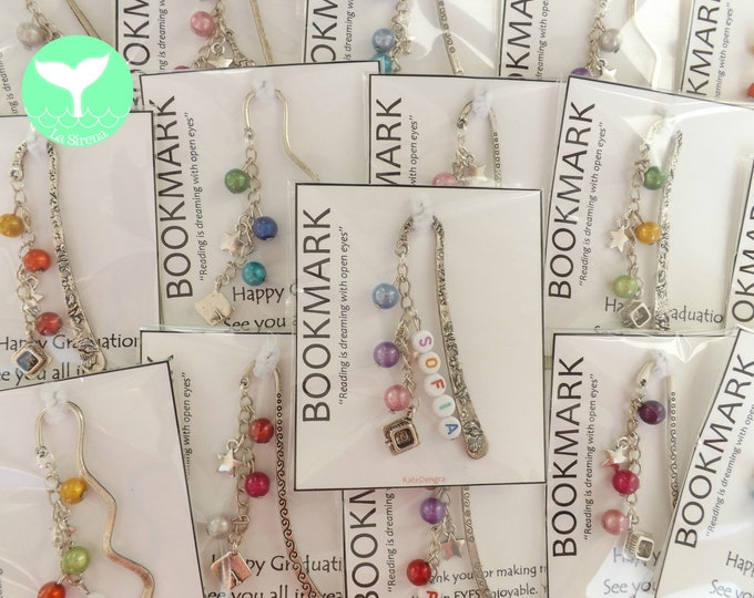 Beaded Bookmarks with Charm of Choice