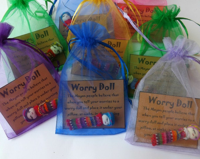 WHOLESALE Large Worry Dolls ~ Choose Quantity