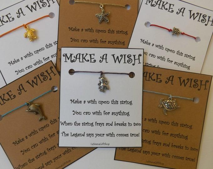 Sea Life Wish Bracelet