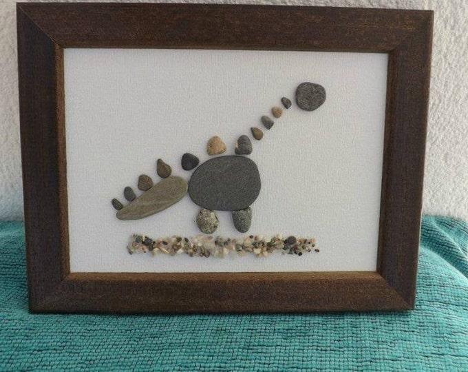 MTO DINOSAUR Pebble Art