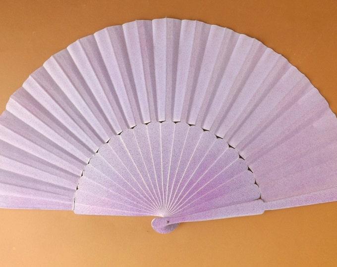 MTO XL Supersize Light Purple Hand Fan