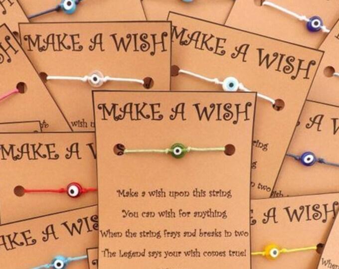 WHOLESALE BULK Evil Eye Collection Wish Bracelet