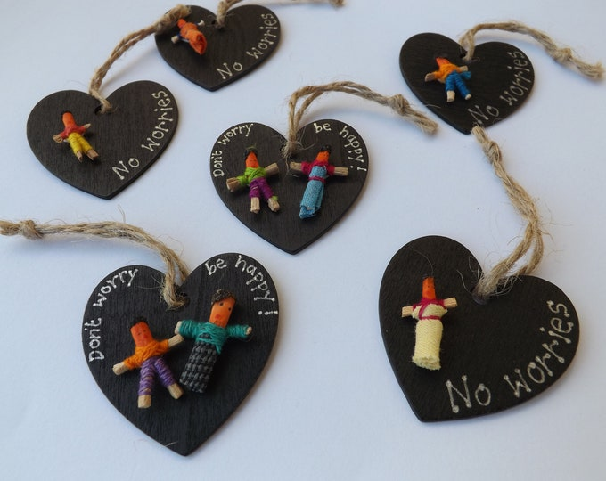Worry Doll Heart