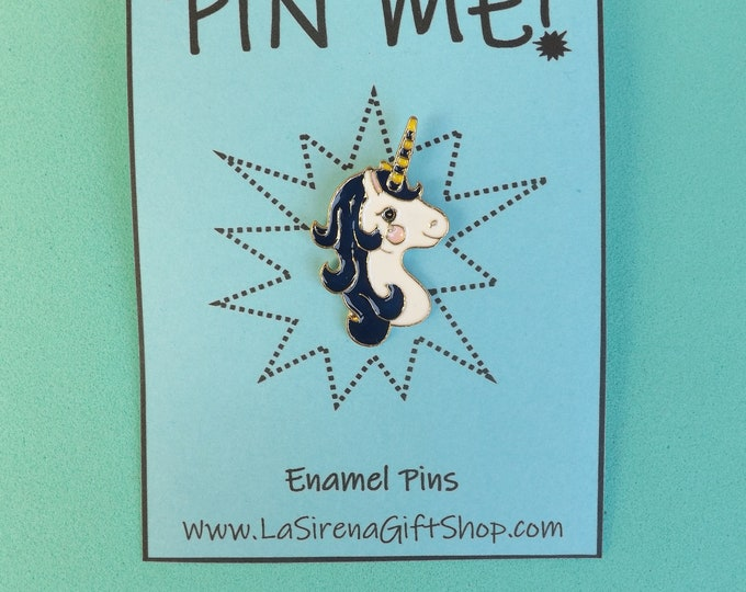 Rainbow or Unicorn Enamel Pin