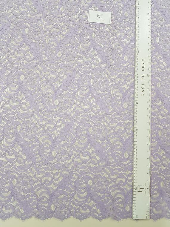 Tissu pourpre dentelle, de dentelle de dentelle, Chantilly, dentelle tulle L32102 9a9ef7