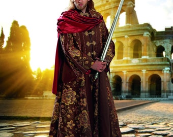 Cosplay cut pattern men's coat King