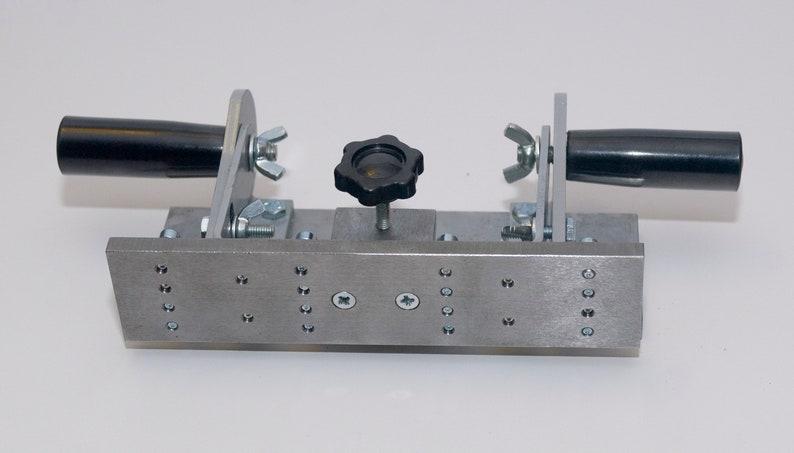 Adjustable Knife grinding jig, tool for knifemaking, for belt grinder  200x90mm