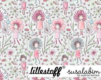 Susalabims Flower Girl - Biojersey Lillestoff