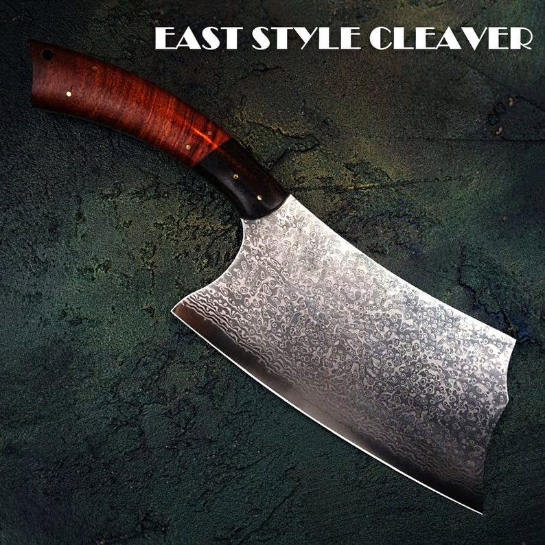Chinese cleaver Hand Forged Damascus Kitchen Knife Vegetables Gadget Home  Tools Custom Chef Knife