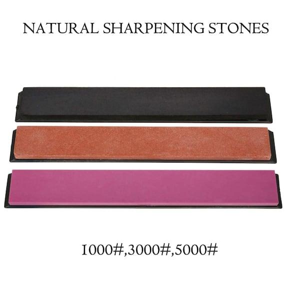 Chef Knife Sharpening Stone 5000/3000/1000 Grit Kitchen Knives Whetstone