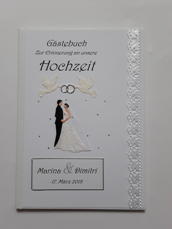 Gästebuch Hochzeit Hochzeitsgästebuch Hardcover | Etsy