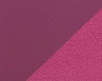 Softshell Rain Jackets Fabric Berry