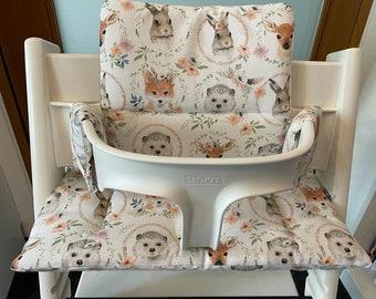 Tripp Trapp Cushion Seat CushionTrippTrapp by Stokke Fuchs Hedgehog Rabbit