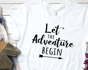 0aecf72a1e5f Adventure T Shirt Vacation Tshirt Adventure Shirt Travel Shirt Vacation  Shirts Cruise Shirts Vacay Shirt Adventure Tee Road Trip Tshirt