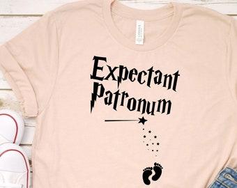 Mom to be Shirt Pregnancy Shirt Pregnancy Announcement Shirt New Baby Announcement Pregnancy Expectant Patronum Shirt Pregnancy Reveal