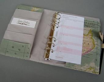 Anfertigung Organizer Ringleiste Weltkarte Größe M