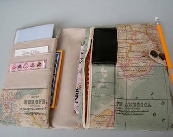 Reise Organizer Weltkarte