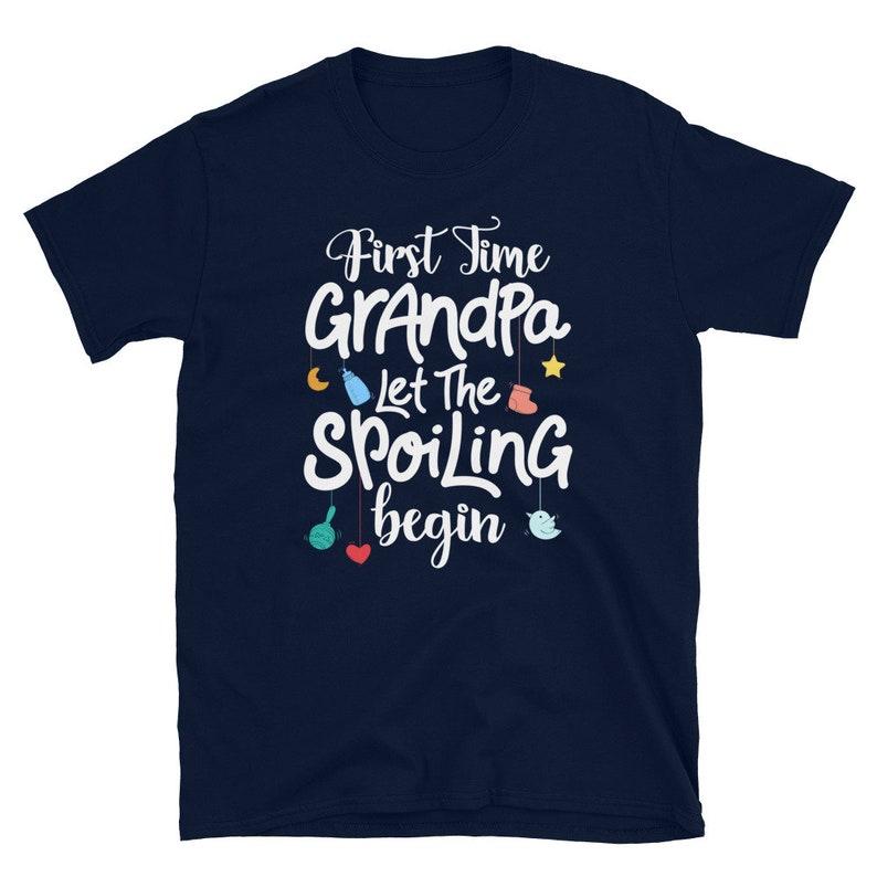 funny grandpa gift new grandpa shirt First Time Grandpa Unisex Shirt new grandpa gift funny grandpa shirt First Time Grandpa shirt