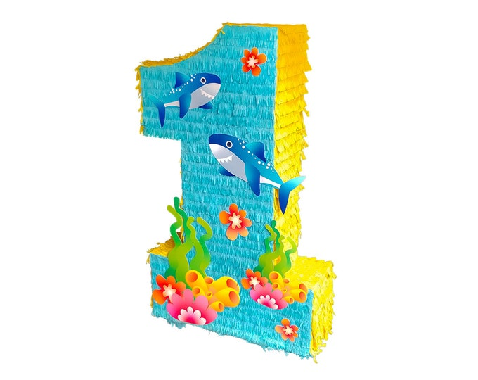 Under the Sea Number Pinata