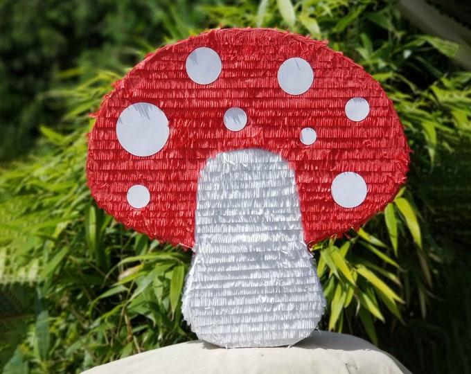 Woodland Mushroom Pinata