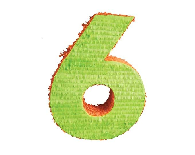 Plain Number Pinata