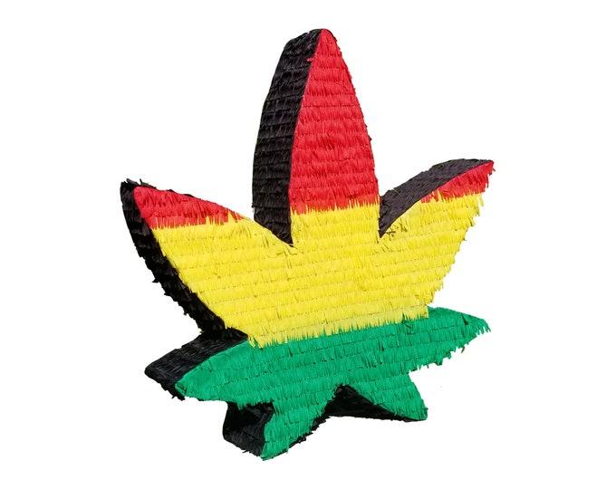 Bob Marley Marijuana Leaf Pinata
