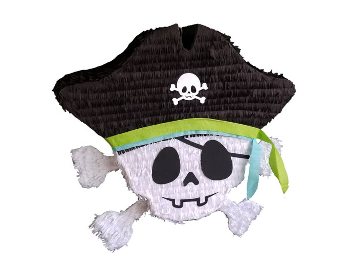 Cute Pirate Skull Pinata
