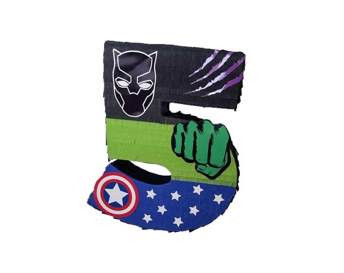 Superhero Birthday Pinata