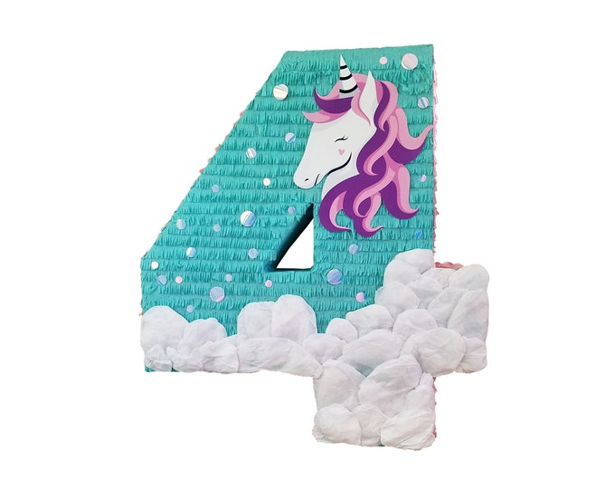 Unicorn Number Pinata