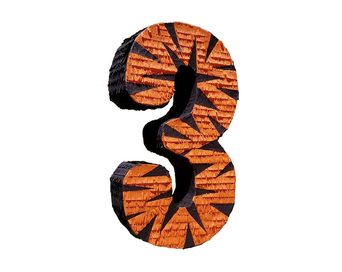 Tiger Number Pinata