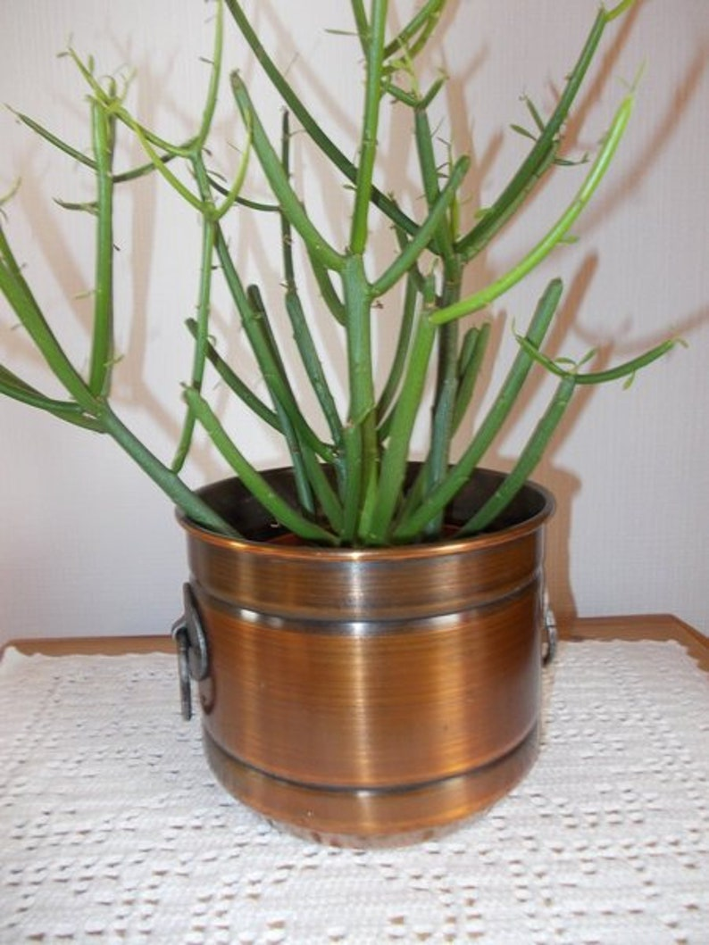 image 0 ... & Copper Flower Pot | Etsy
