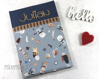 U-booklet cover mice in space with desired name