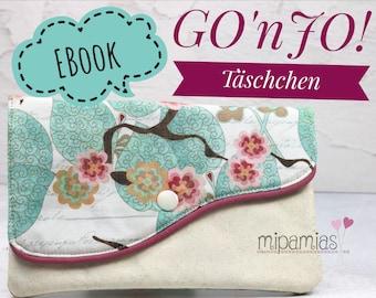 E-Book Nähanleitung GOnJO! Täschchen