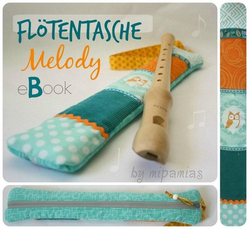 E-Book Nähanleitung Flötentasche Melody image 0
