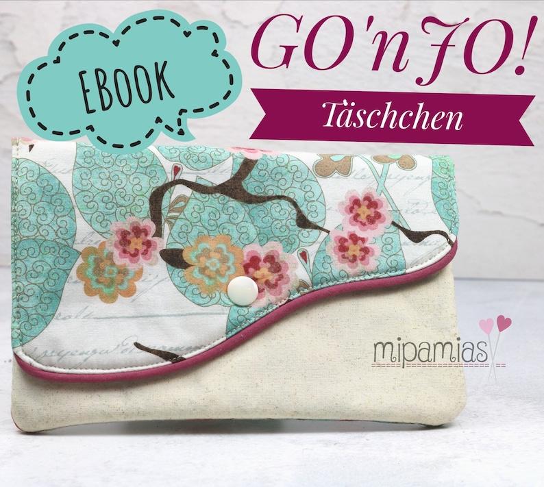 E-Book Nähanleitung GOnJO Täschchen image 1