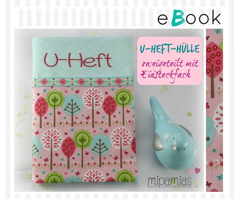 E-Book Nähanleitung U-Heft-Hülle image 0