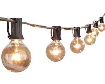 Hanging globe light | Etsy