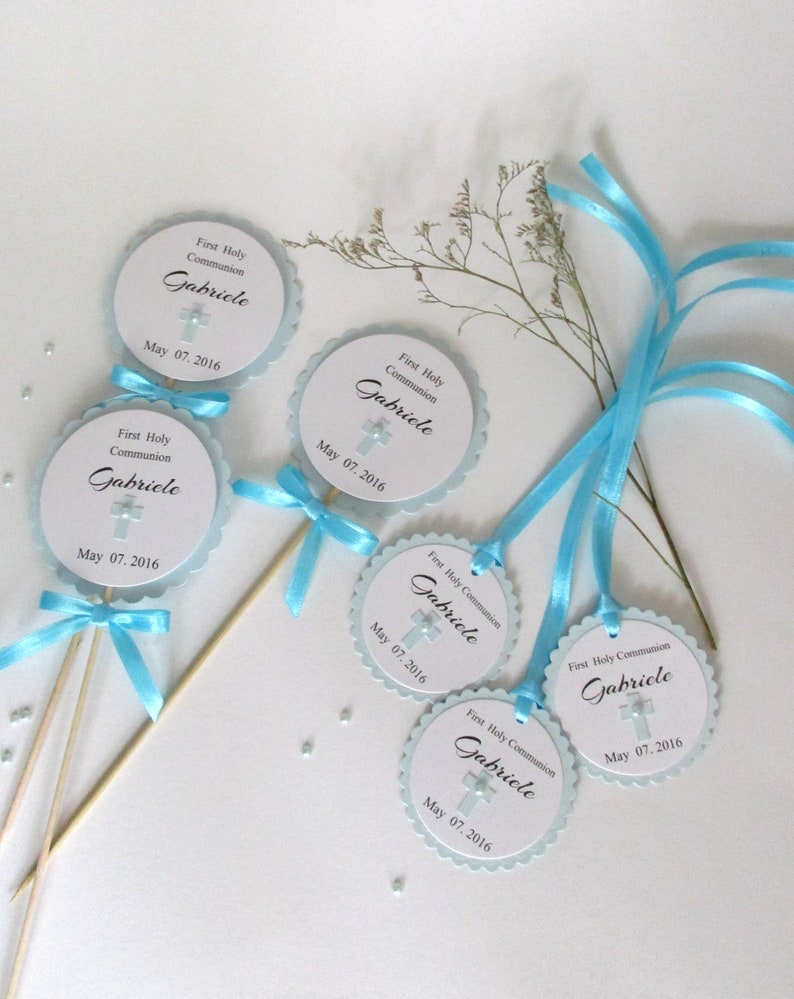 Baptism Decorations Baptism Centerpieces First Holy Etsy