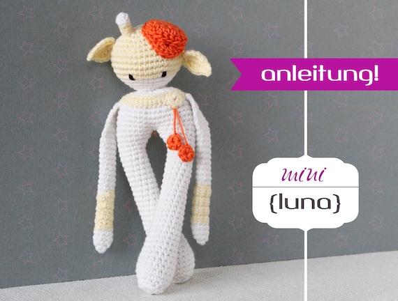 Häkelanleitung Amigurumi Luna Mini Giraffe