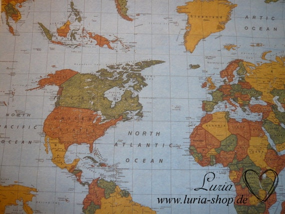 10.10 EUR/Meter Decorative World Map Map/World Map on vintage world map, ceramic world map, bedding world map, interior world map, simple world map, ornate world map, seasonal world map, jewelry world map, security world map, solar world map, repositionable world map, fluorescent world map, videogame world map, rounded world map, plants world map, miniature world map, illustration world map, mythological world map, nature world map, distressed world map,