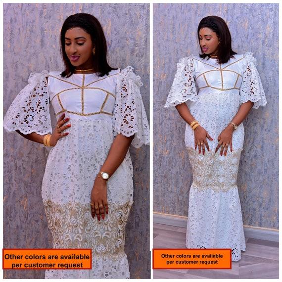 African women\'s dress/African clothing/African fashion/ African  dress/African skirt/Bazin boubou, Plus size dress/Plus size clothing