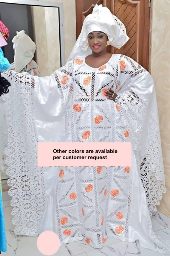 Premium Getzner magnum gold African dressAfrican clothingAfrican fashion African dressBazin boubou Plus size dressPlus size clothing